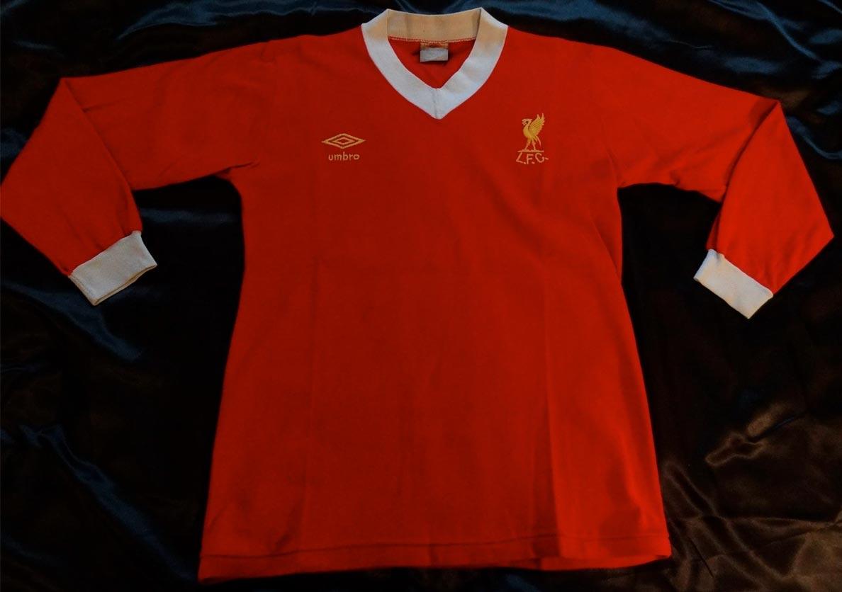 Liverpool Kit 1980 Liverpool fc Home Players Kits