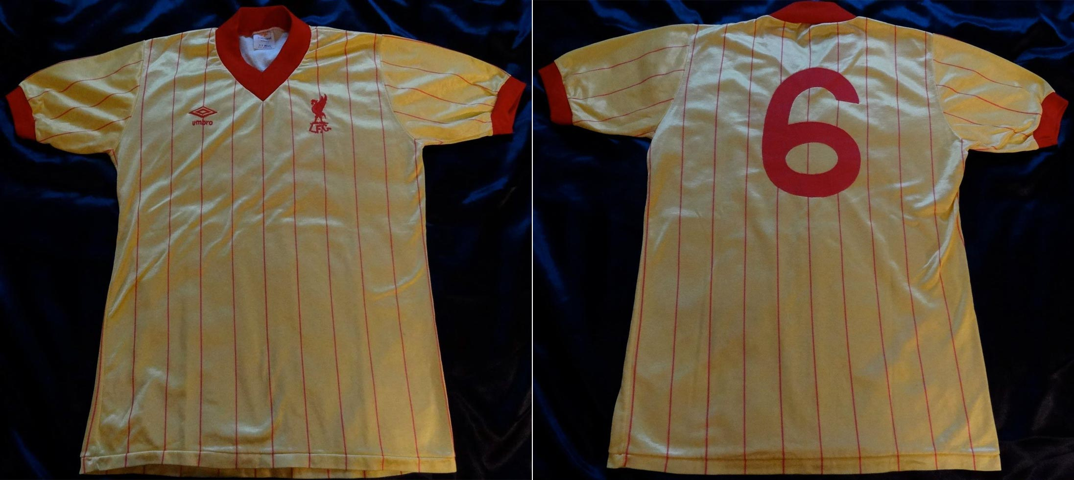 c1ed1a1a2a7 1982-83 Away player shirt short sleeve № 6 Alan Hansen (without CROWN  PAINTS logo