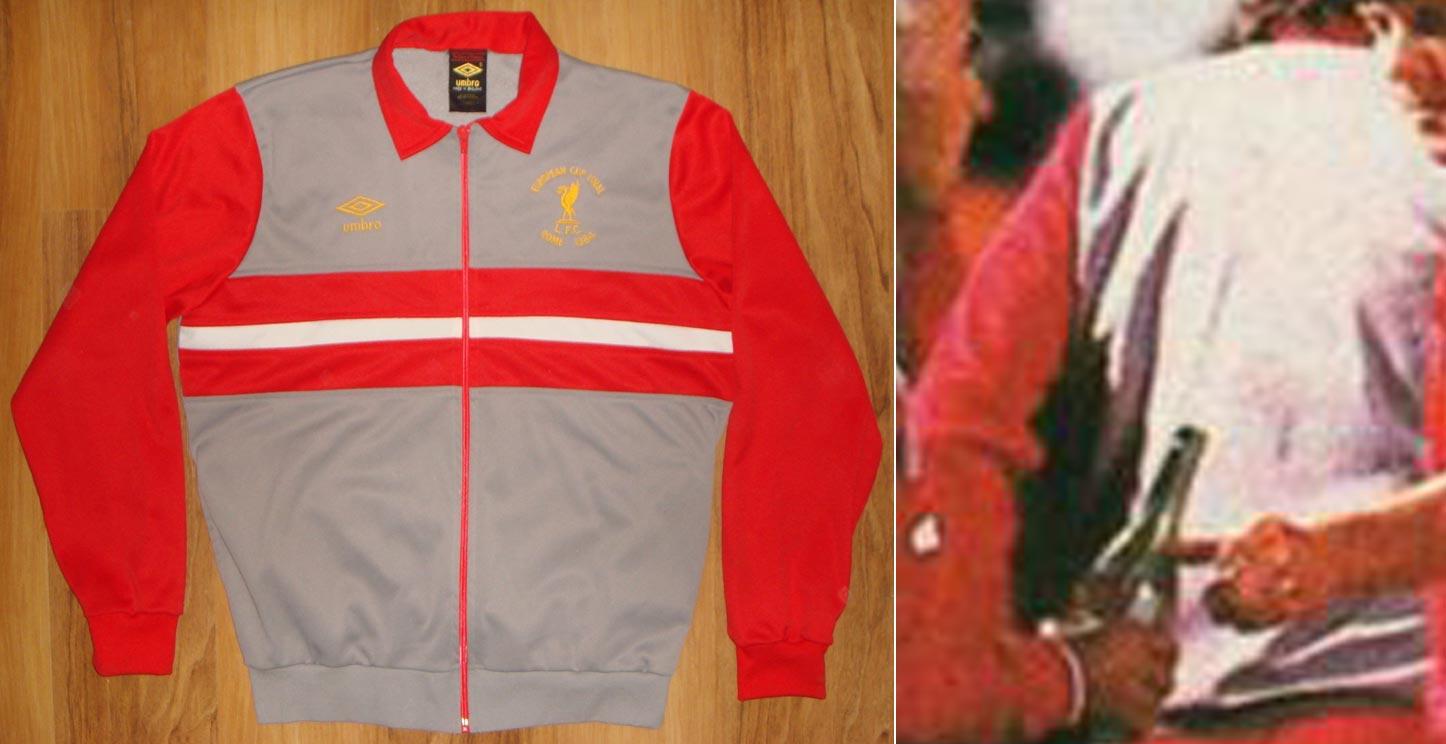 665230518 1984-85 Home goalkeeper shirt long sleeve № 1 Bruce Grobbelaar (CROWN  PAINTS logo one line) - not now good image