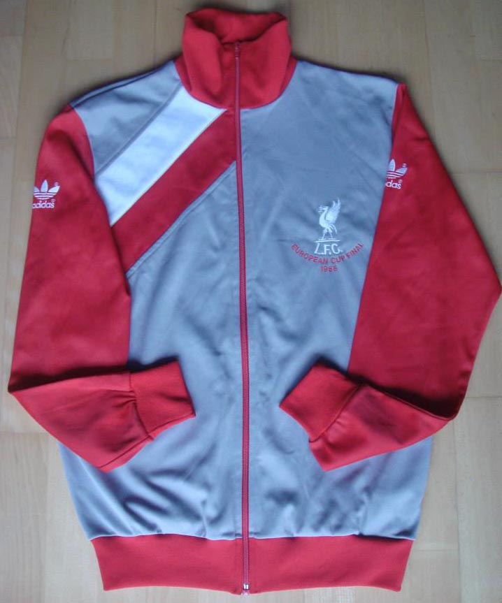 cda894c66 1984-85 European Cup Final Second home player tracksuit top -