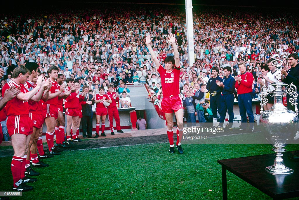 Liverpool FC Away goalkeepers kits 1987 - 1988