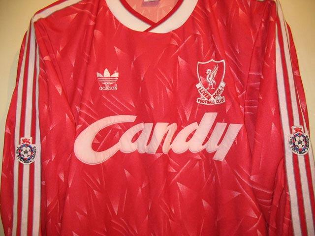 f8c09d5e639 The History Liverpool FC Kits 1990 - 1991