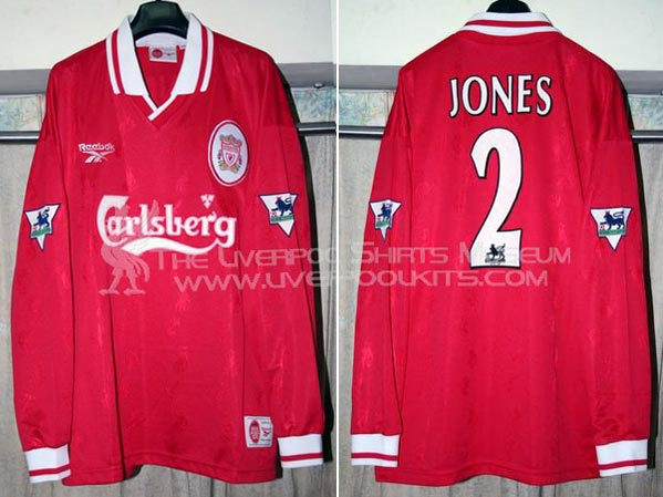 newest c61ff 63b04 The History Liverpool F.C. Kits 1997 - 1998