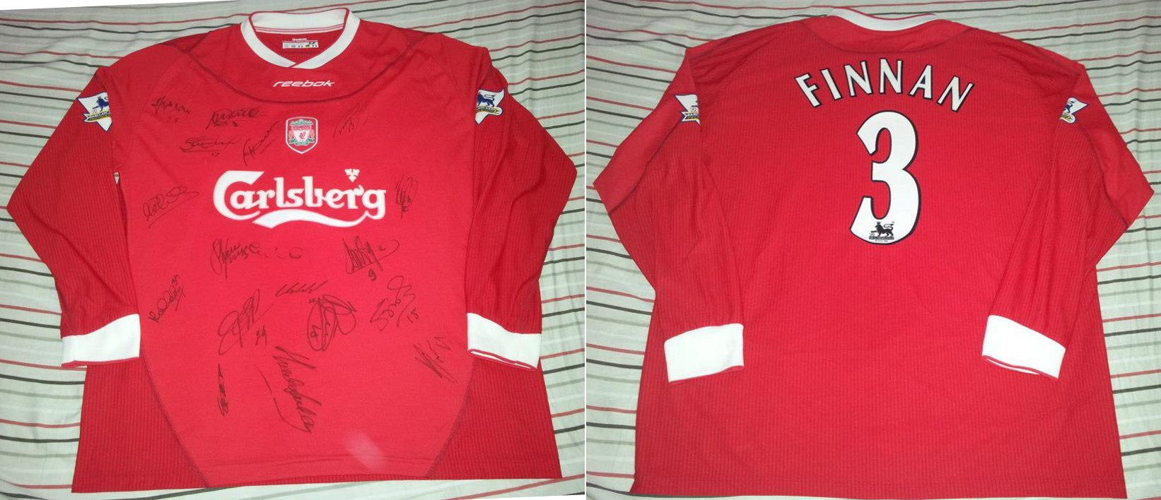 finest selection 9b100 b2a78 The History Liverpool F.C. Kits 2003 - 2004