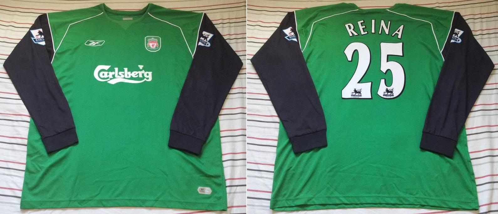 The History Liverpool F C Kits 2004 2005