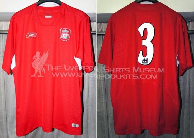 f17e35afc 2005-06 Friendly (Reserves) Home player shirt short sleeve № 7 (small  Carlsberg logo - not now good image