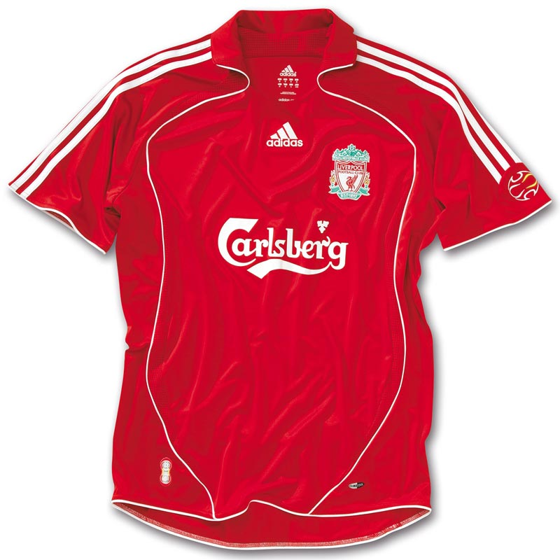 new arrival 52179 b4031 The History Liverpool F.C. Kits 2006 - 2007