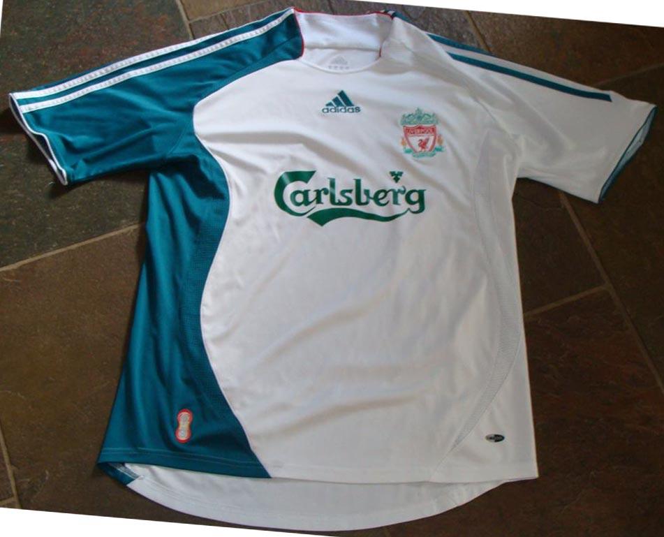 new arrival b9e0e 63f85 The History Liverpool F.C. Kits 2006 - 2007