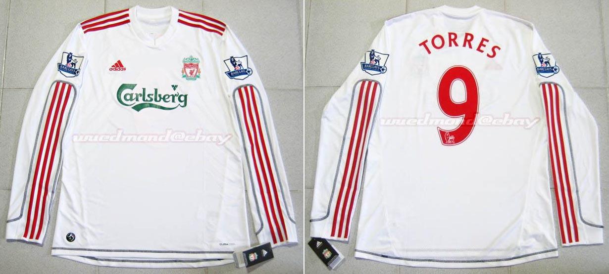 894c01dfd 2009-10 Premier League Third player shirt long sleeve № 47 Daniel Pacheco  (big Carlsberg logo) - image with site The Liverpool Shirts Museum ...