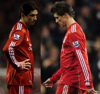 dd01cd6a0 Liverpool FC Home players kits 2010 - 2011
