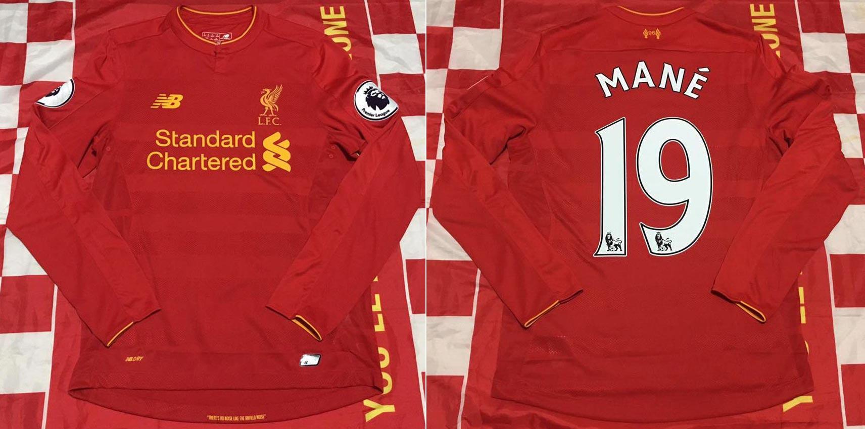 buy popular dc5c7 63fa0 The History Liverpool F.C. Kits 2016 - 2017