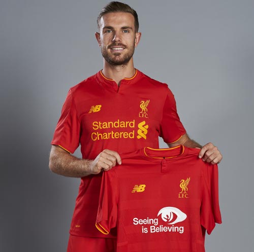 Liverpool FC Home goalkeepers kits 2016 - 2017 74effc7fa