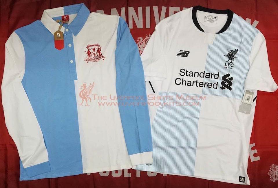 timeless design ed41f 145ce The History Liverpool FC Kits 1892 - 1893