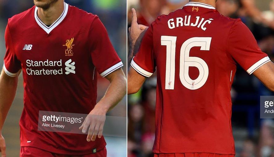 2017-18 Friendly main team Home player shirt short sleeve № 16 Marko Grujic  - not now good image 903c795a0