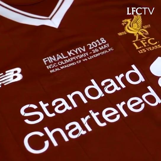 1b2b5591b Liverpool FC Home players kits 2017 - 2018